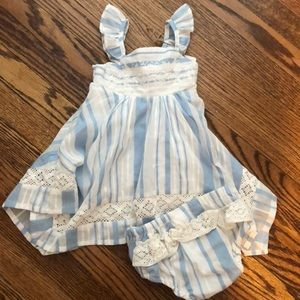 Tommy Bahama Baby Two Piece Outfit